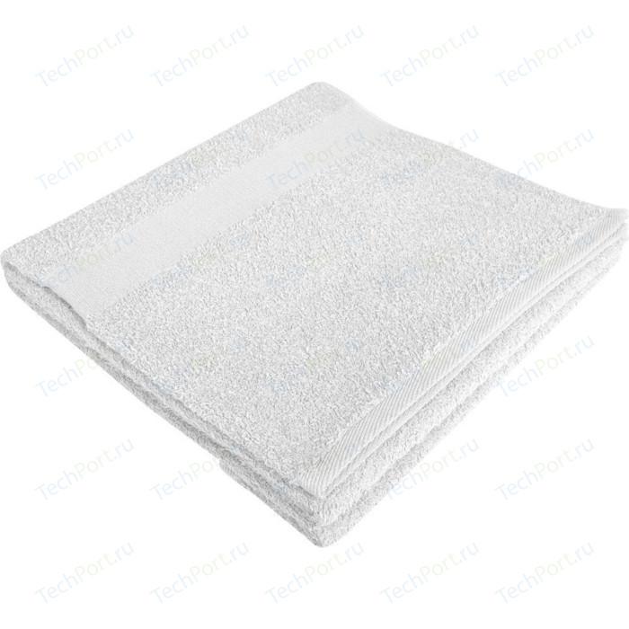 Полотенце махровое Bravat Soft Me Large белое, вышивка 1+0 (GM5512)