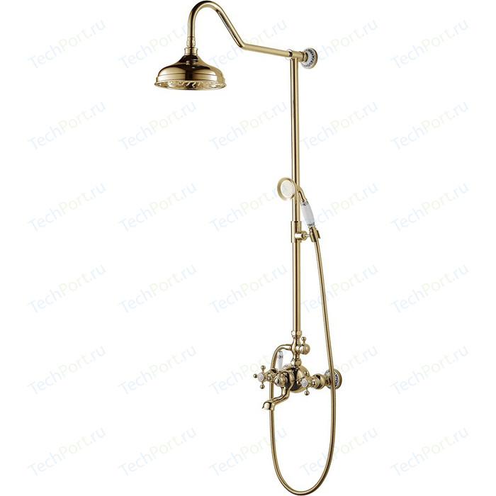 Душевая система Schein Saine Gold (8053055VF)