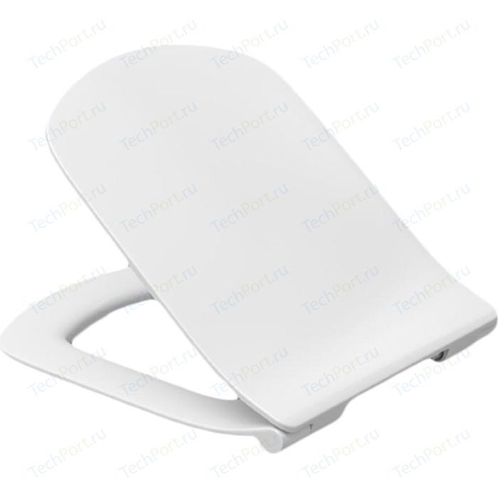 Сиденье для унитаза Roca Dama Senso Slim с микролифтом, быстросъемное (ZRU9302991)