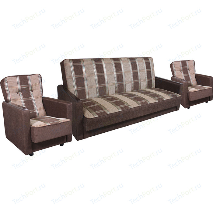Комплект Шарм-Дизайн Классика коричневая
