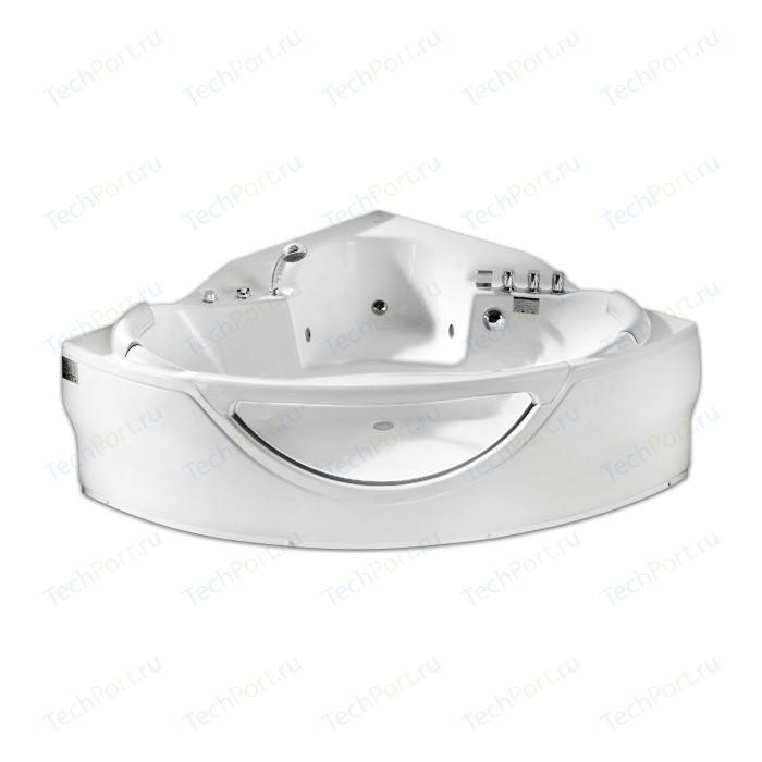 Акриловая ванна Gemy 155x155 с гидромассажем (G9025 II B)