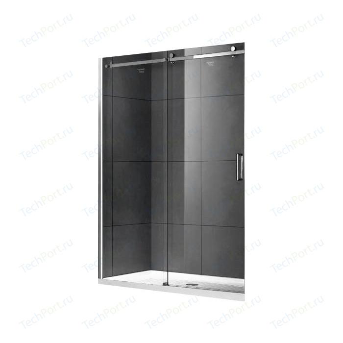 Душевая дверь Gemy Modern Gent 120 прозрачная, хром (S25191C)