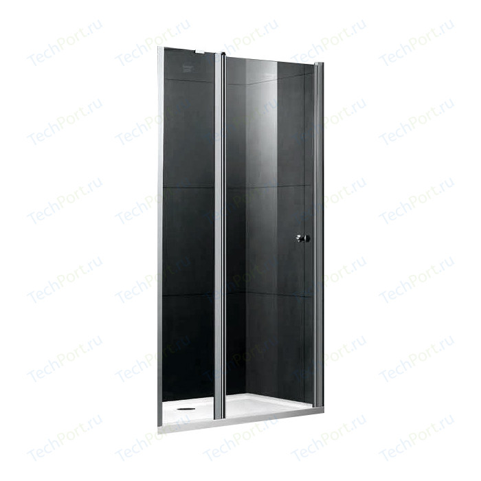 Душевая дверь Gemy New Rockcoco 90 прозрачная, хром (S03191B)