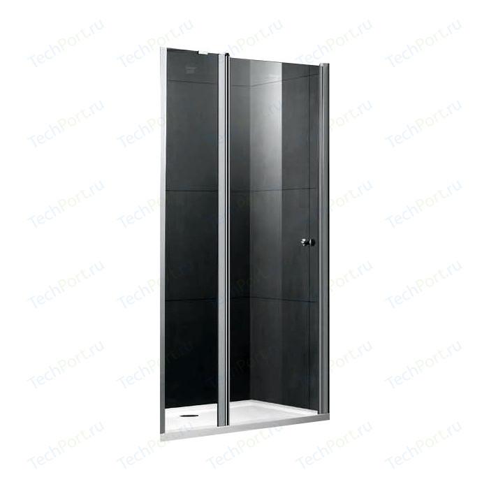Душевая дверь Gemy New Rockcoco 120 прозрачная, хром (S03191C)
