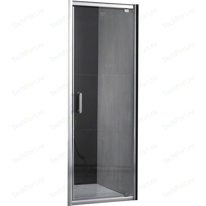 Душевая дверь Gemy Sunny Bay 60 прозрачная, хром (S28120)