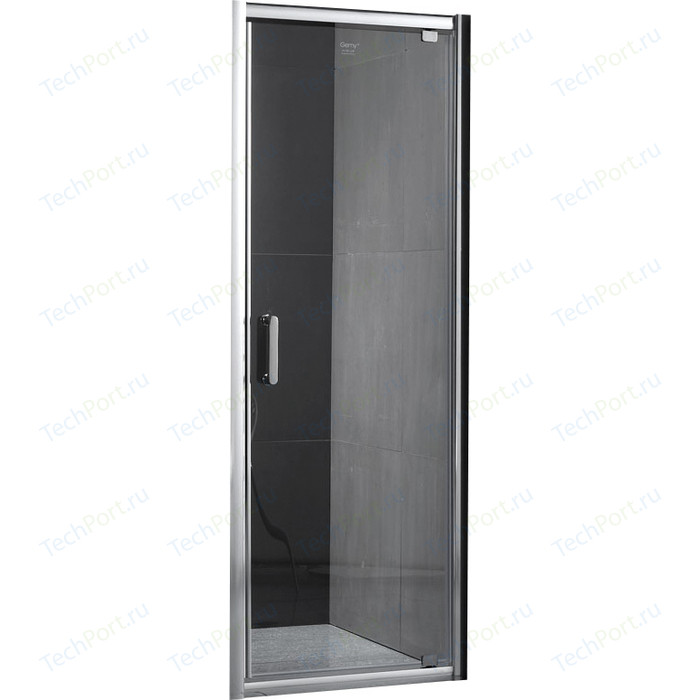 Душевая дверь Gemy Sunny Bay 90 прозрачная, хром (S28170)