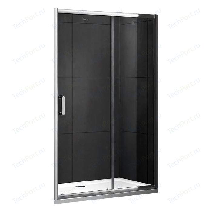 Душевая дверь Gemy Victoria 130 прозрачная, хром (S30191E)