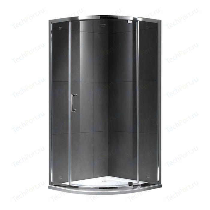 Душевой уголок Gemy Sunny Bay 90x90 прозрачный, хром (S28071)