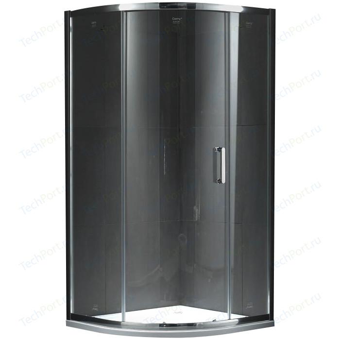 Душевой уголок Gemy Victoria 90x90 прозрачный, хром (S30071A)