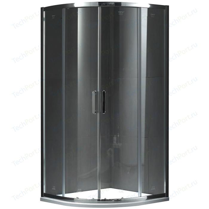 Душевой уголок Gemy Victoria 100x100 прозрачный, хром (S30082)