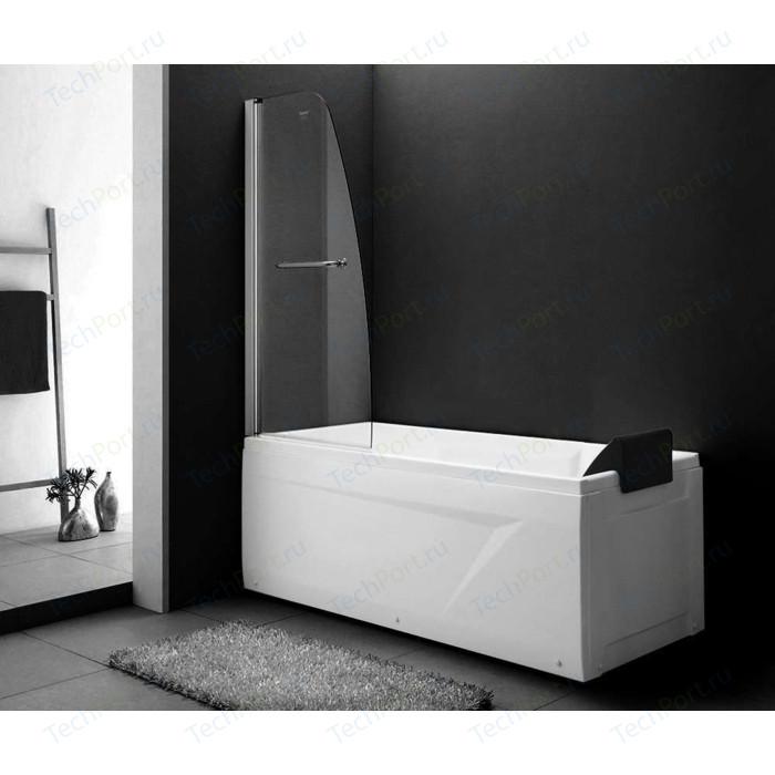 Шторка на ванну Gemy New Rockcoco 80 прозрачная, хром (S03200)