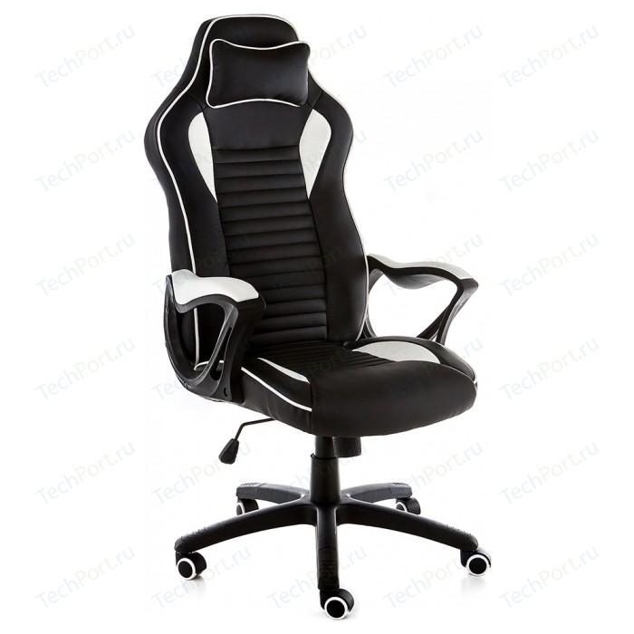 Компьютерное кресло Woodville Leon черное/белое