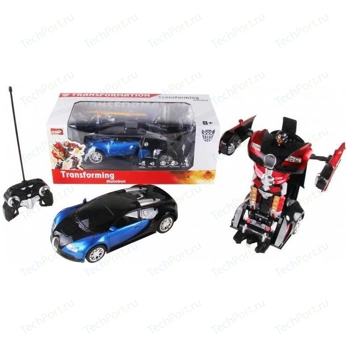 Фото - Радиоуправляемый трансформер MZ Model 1:14 Bugatti Veyron Meizhi - 2315P радиоуправляемый робот трансформер mz model радиоуправляемый робот трансформер mz porshe 911 meizhi 2337p