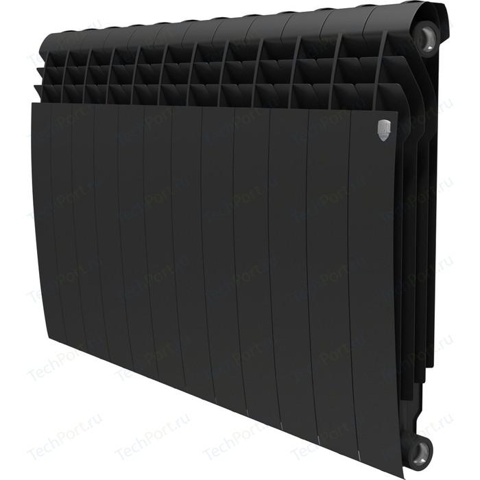 Радиатор отопления ROYAL Thermo биметаллический BiLiner 500 new Noir Sable 12 секций радиатор отопления royal thermo биметаллический biliner 500 new noir sable 8 секций