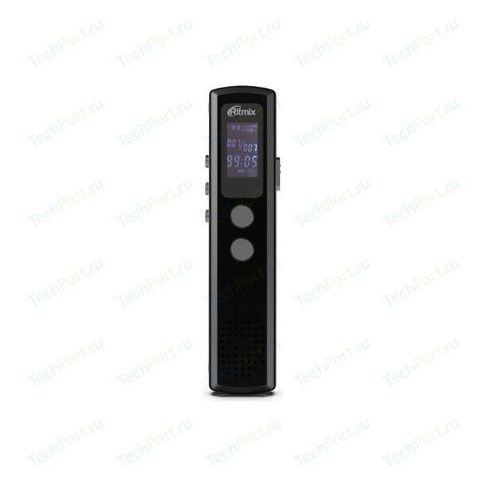 Диктофон Ritmix RR-120 8Gb black диктофон ritmix rr 810 4gb