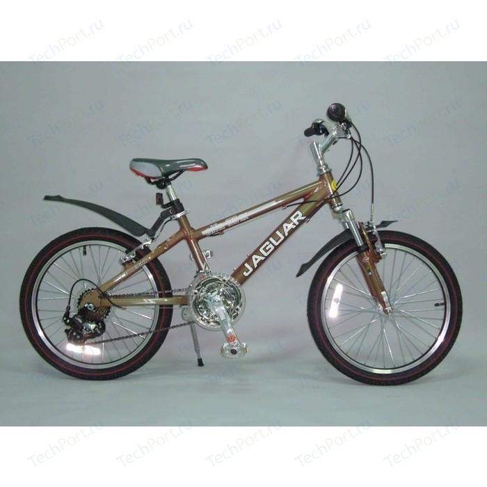 Велосипед 2-х колесный Funny Scoo MS-A203S Alfa 3ск браун