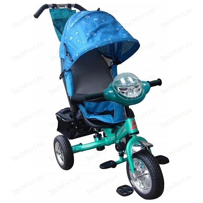 Велосипед трехколесный Funny Scoo Next Pro (MS-0521 IC) аква