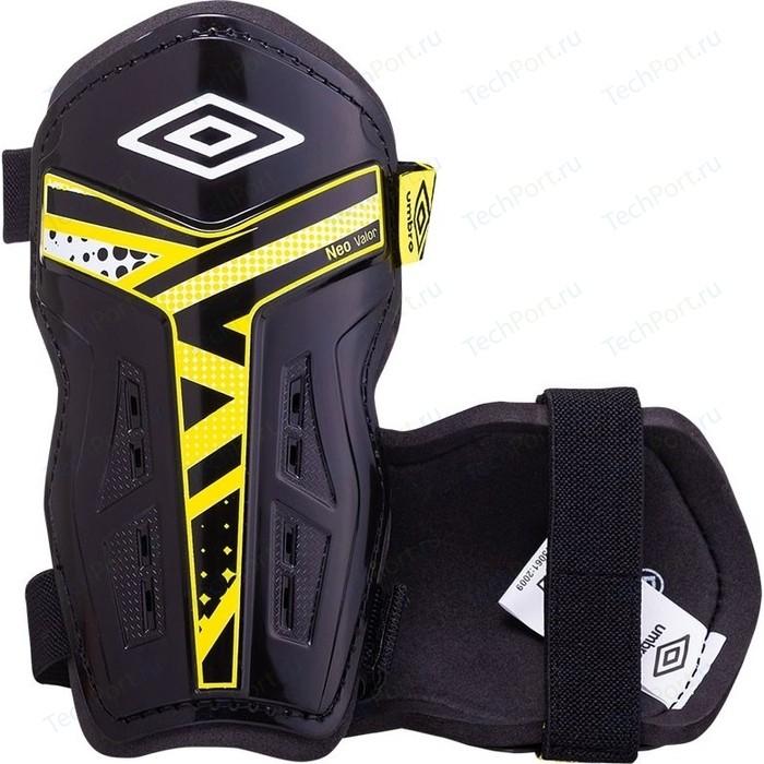 Щитки футбольные Umbro Neo Valor Slip 20892U-FND р.L