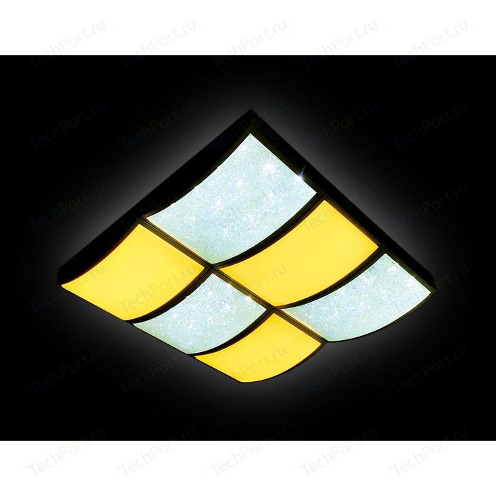 Управляемый светодиодный светильник Ambrella light FS1510 WH/SD 144W D540*540