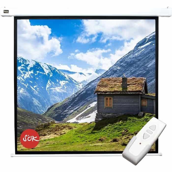 Экран для проектора Sakura Pro 180x180 Motoscreen 1:1 100 фибергласс (SCPSM-180x180FG)