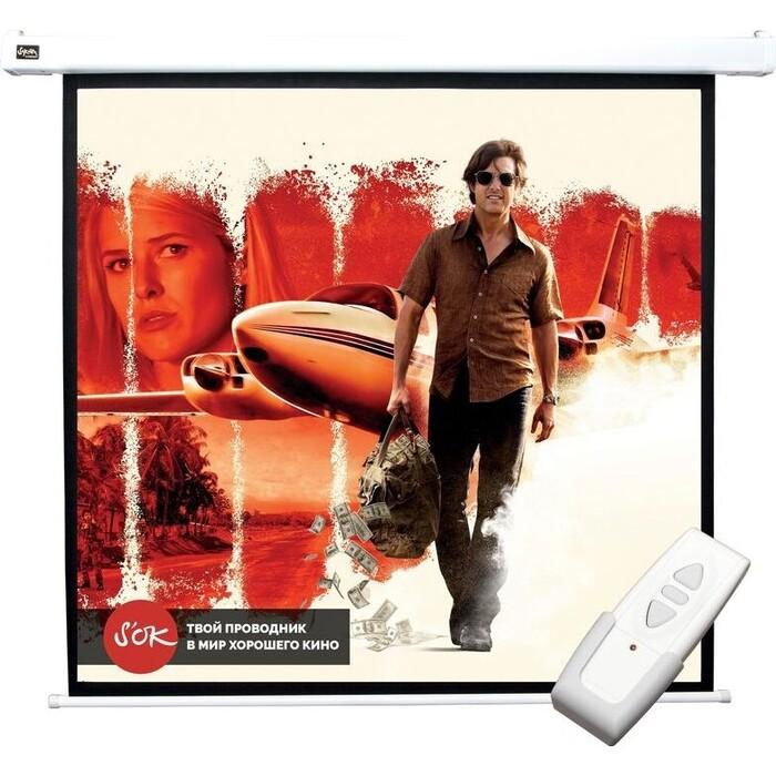 Фото - Экран для проектора Sakura 183x183 Motoscreen 1:1 102'' (SCPSM-183x183) экран для проектора sakura 183x183 motoscreen 1 1 102 gray scpsm 183x183 gr