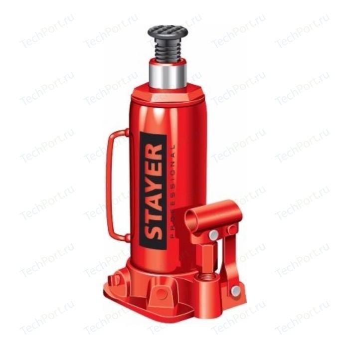 Домкрат гидравлический Stayer RED FORCE 12т (43160-12 z01)