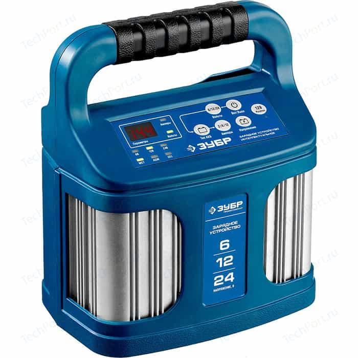 Зарядное устройство Зубр 12В, 12А Профессионал (59305)