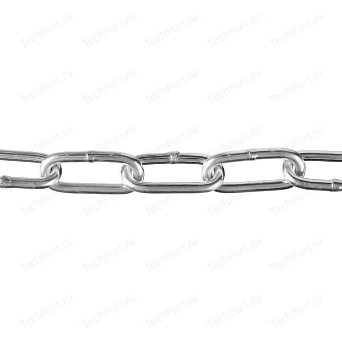 Цепь длиннозвенная Зубр DIN 763 d 2 мм L 200м Профессионал (4-304030-02)