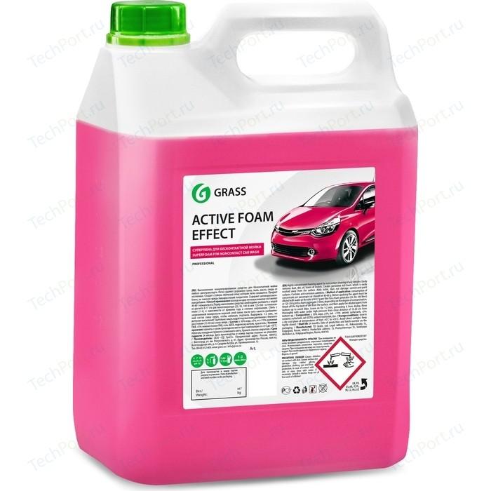 Активная пена GRASS Active Foam Effect, эффект снежных хлопьев, 6 кг автошампунь grass active foam effect 6 кг