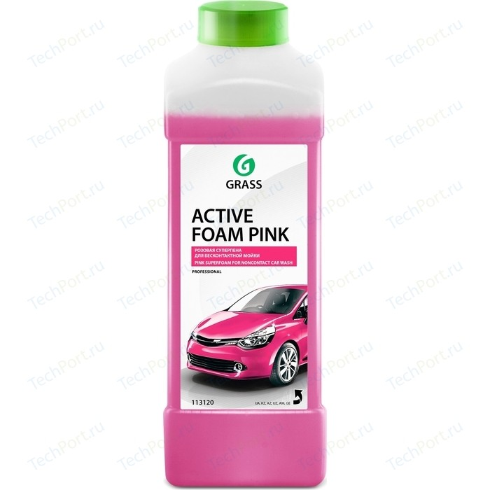 Активная пена GRASS Active Foam Pink, розовая пена, 1 л