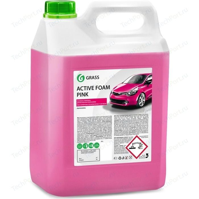 Активная пена GRASS Active Foam Pink, розовая пена, 6 кг