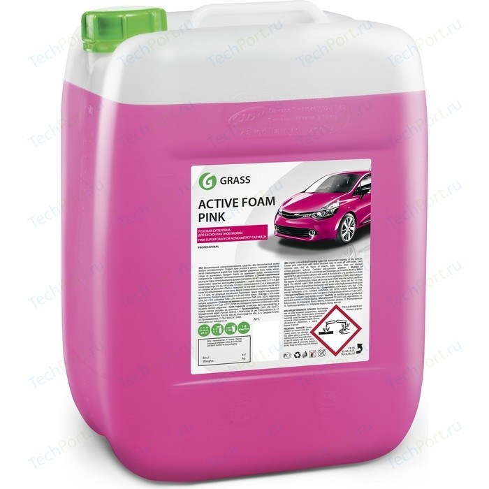 Активная пена GRASS Active Foam Pink, розовая пена, 23 кг