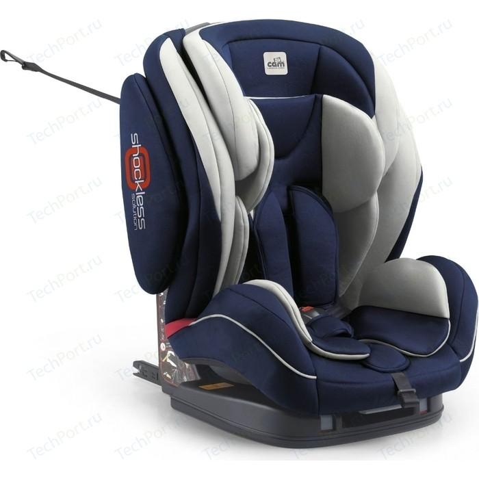 Автокресло Cam Regolo ISOFIX группа 1-2-3 вес 9-36 кг (син / сер) GL000302875