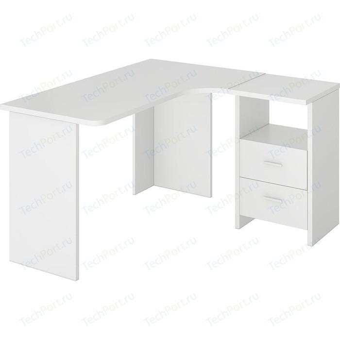 Фото - Стол компьютерный МЭРДЭС СКЛ-Угл130 БЕ ПРАВ стол компьютерный мэрдэс ср 132 бе прав белый