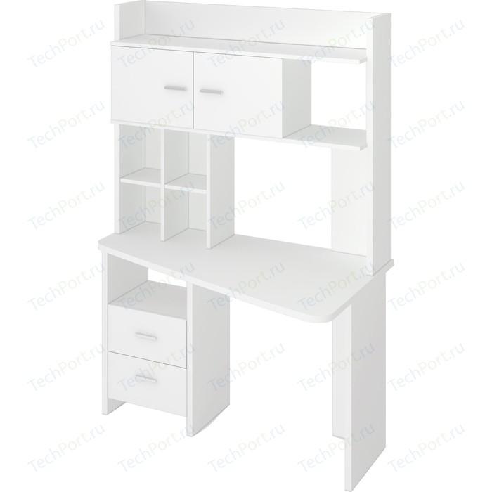 Фото - Стол компьютерный МЭРДЭС СКЛ-Крл120+НКЛХ-120 БЕ ПРАВ стол компьютерный мэрдэс ср 132 бе прав белый