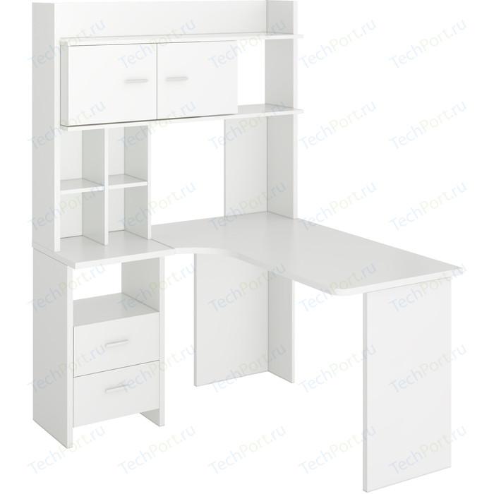 Стол компьютерный МЭРДЭС СКЛ-Угл130+НКЛХ-120 БЕ ЛЕВ цена 2017
