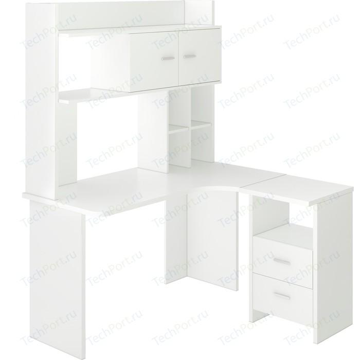 Фото - Стол компьютерный МЭРДЭС СКЛ-Угл130+НКЛХ-130 БЕ ПРАВ стол компьютерный мэрдэс ср 132 бе прав белый