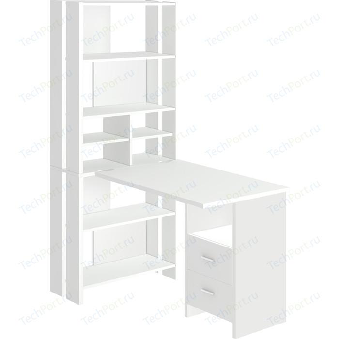 Стол компьютерный МЭРДЭС СТЛ-ОВХ+С120РПрям БЕ