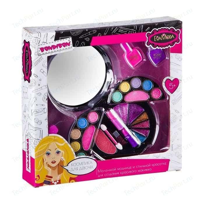 Набор детской декоративной косметики Bondibon Eva Moda Лак для ногтей 2 оттенка (15,6г) (ВВ2252)