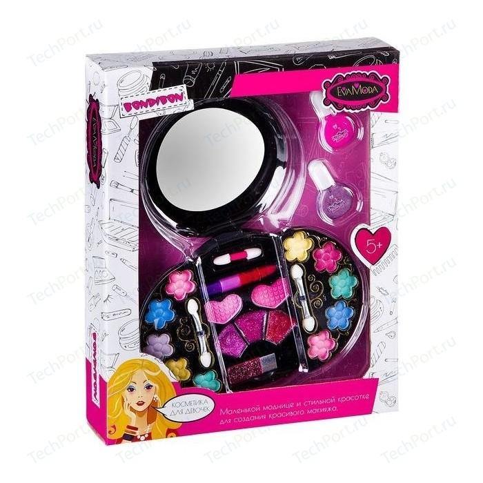 Набор детской декоративной косметики Bondibon Eva Moda Лак для ногтей 2 оттенка (10г), (ВВ2255)