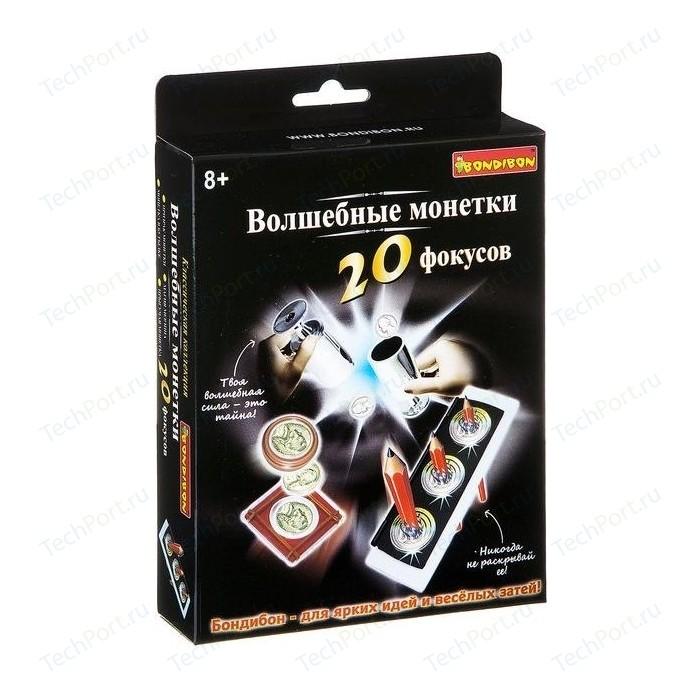Фокусы Bondibon Волшебные монетки 20 фокусов (ВВ2124)