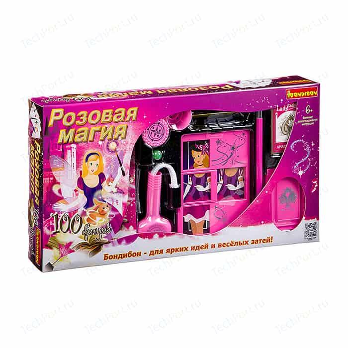 Фокусы Bondibon Подарочный набор для девочек 100 фокусов (ВВ2950)