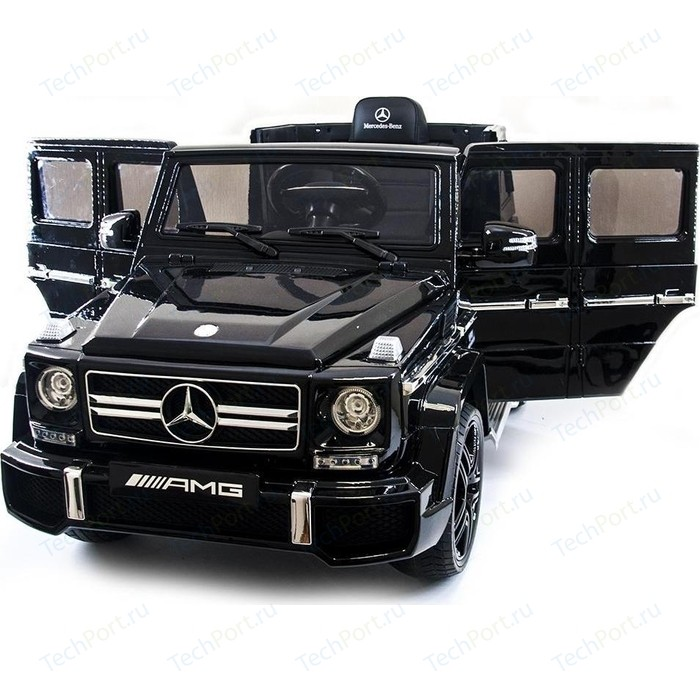 Детский электромобиль Harleybella Mercedes Benz G63 LUXURY 2.4G - Black HL168-LUX-B
