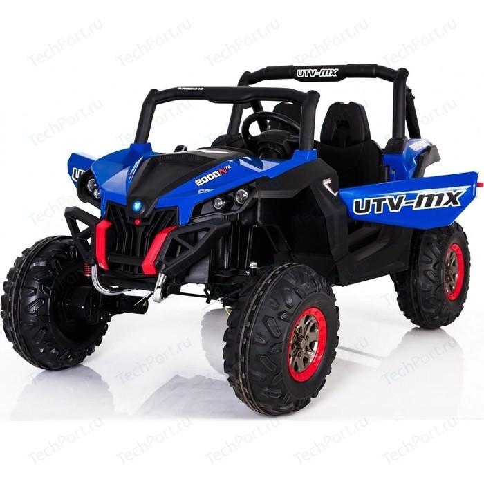 Двухместный полноприводный электромобиль XMX Blue UTV-MX Buggy 12V 2.4G - XMX603-BLUE