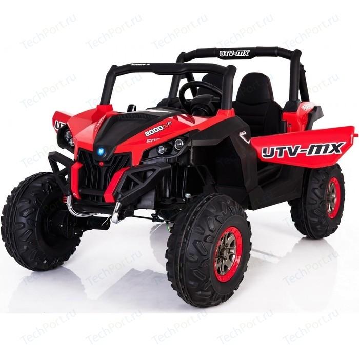 Двухместный полноприводный электромобиль XMX Red UTV-MX Buggy 12V 2.4G - XMX603