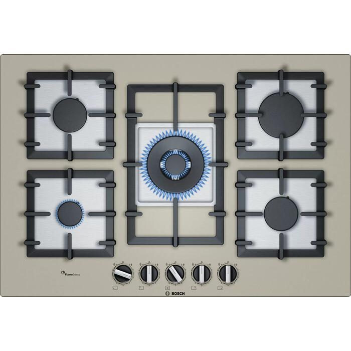 Газовая варочная панель Bosch PPQ7A8B90R плита газовая с электрической духовкой bosch hgd645150r