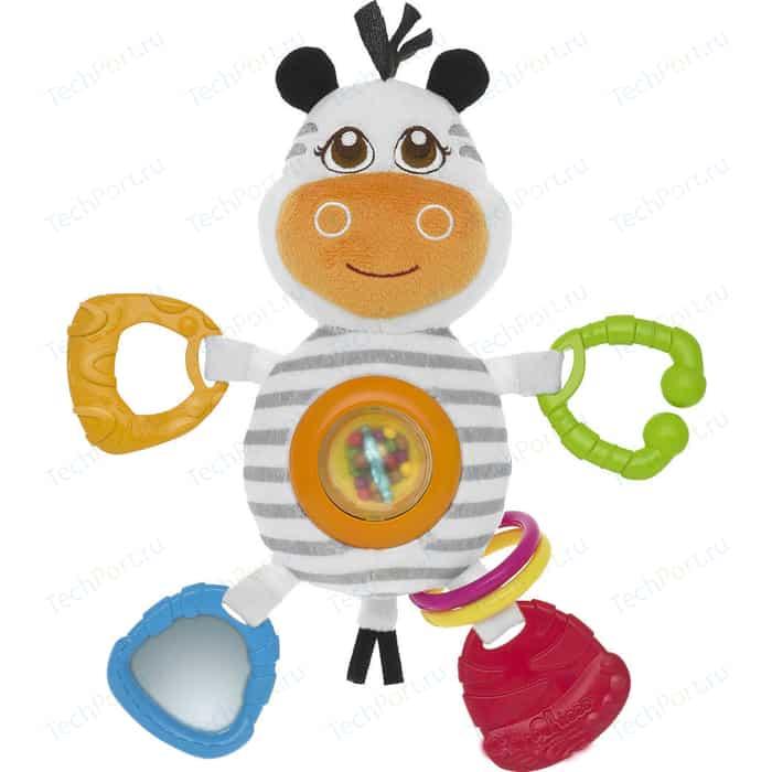 Игрушка-погремушка Chicco Зебра 58903 игрушка погремушка chicco жираф