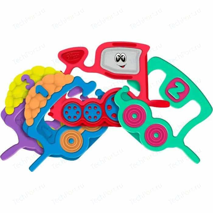Игрушка-погремушка Chicco Поезд 81055 игрушка погремушка chicco жираф