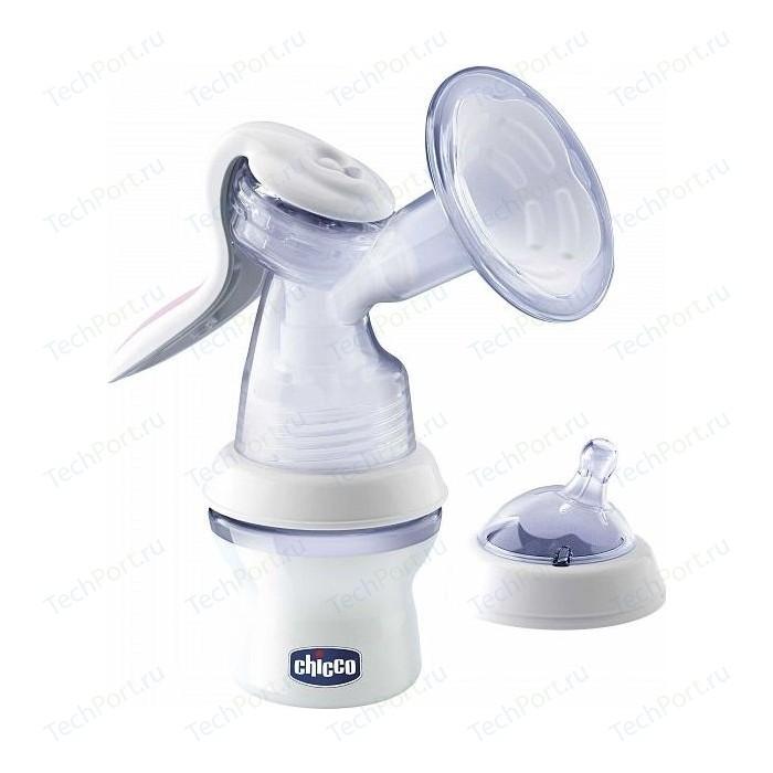 Молокоотсос Chicco ручной с бутылочкой Natural Feeling 340624005 81156