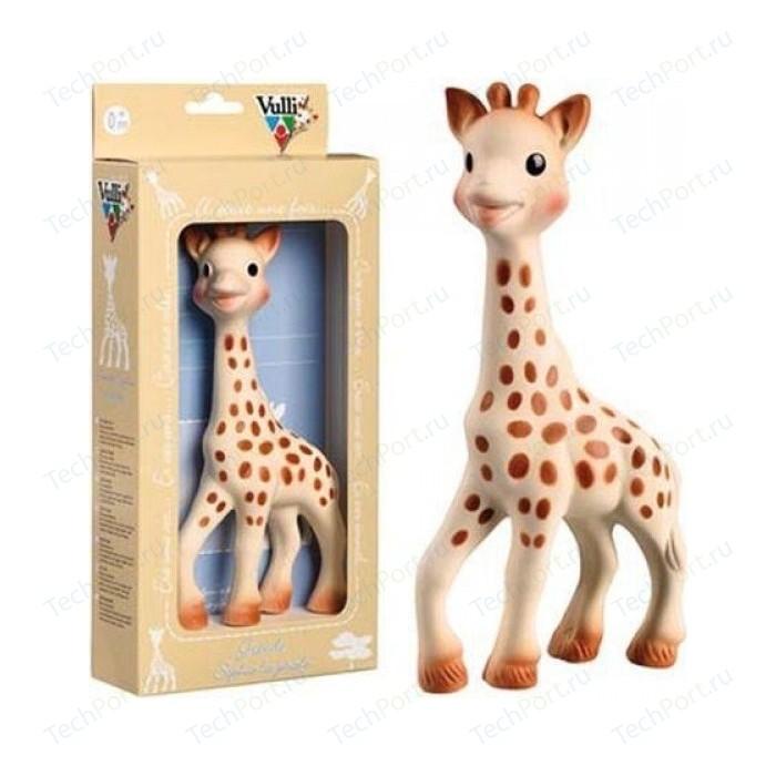 Игрушка-прорезыватель Vulli (Вулли) Жираф Софи большой (натуральный каучук) 616326 8043 юрий петрович русин жираф большой – ему видней…